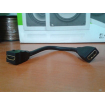 Conector Keystone Hdmi F X F Extensão 10cm Preto Av Z1627