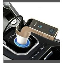 Transmisor Bluetooth Fm Enviograti Manos Libres Usb Microsd