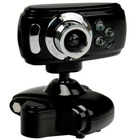 Webcam 32000k Interpolado C/ Led + Mic Alta Definição Usb