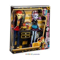 Monster High Abbey Bominable E Heath Burns - Original Mattel