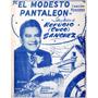 El Modesto Pantaleon Cuco Sanchez Canción Ranchera