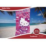 Toallón Hello Kitty 100% Algodón Aterciopelado Disney Piñata