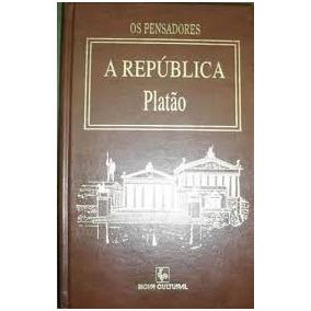 Livro Os Pensadores A República Platão