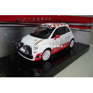 Abarth 500 R3t - Retro Blanco Racing - Motormax 1/24