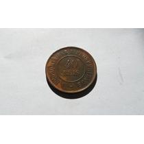 544 - 40 Réis - 1900 - Moeda De Bronze - Brasil.