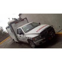 Ambulacia Doble Cabina Dodge 3500 Con Antena Parabolica
