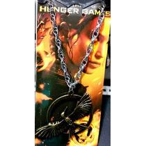 Collar Sinsajo Bronce Hunger Games Metal