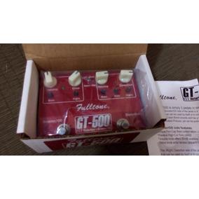 Pedal Fulltone Gt500 - Fulltone Gt 500 - Pedal De Drive