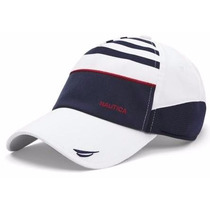 Gorra Nautica Estilo Hr6108 Striped Stretch Twill