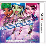Gran Juego Original Monster High Para Consolas Nintendo 3ds