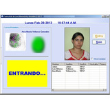Cab Control De Acceso Biometrico Huella Dactilar-biometria