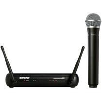 Microfone Sem Fio Mão Shure Pg58 Svx24br J9 Profissional