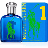 Perfume Polo Big Pony 1 Ralph Masculino125ml Original
