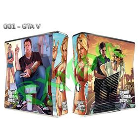Xbox360 Slim / Capa Skin / Vinil Adesivo