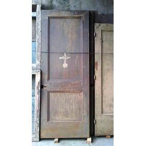 3 Hojas De Puerta Hierro Chapa 3 Mm 91 X 243