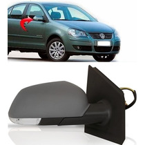 Retrovisor Polo C Pisca Ld 2007 2008 2009 2010 2011 Eletrico