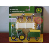 Pac De Mini Trator Agricola Farm John Deere Da Ertl