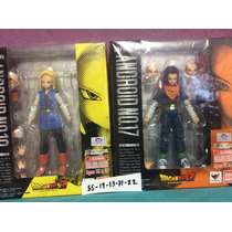 Figuras Sh Figuars Androides 18 Y 17 Dragon Ball Z