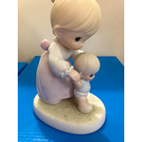 Precious Moments Porcelana Mamá Primeros Pasos