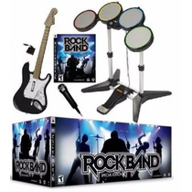 Rock Band Edicion Instrumental Set Completo Playstation 3