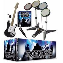 Rock Band Edicion Instrumental Set Completo Playstation 3