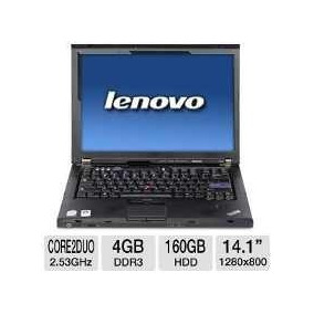 Notebook Lenovo Thinkpad T400 Core 2 Duo 4 Gb Hd 160