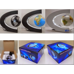 Globo Terraqueo Levitacion Magnetica Levitron Con Luces Led