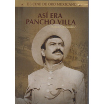 Pedro Armendariz Asi Era Pancho Villa Dvd Nuevo