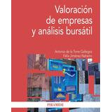 Valoración De Empresas Y Análisis Bursátil - A. De La Torre