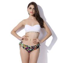Bikini Mallas Traje De Baño Dos Piezas Nueva Temporada 2017
