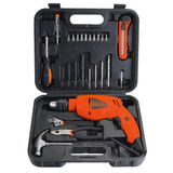 Kit Furadeira De Impacto Black-decker Hd500ks 25 Pecas 220v