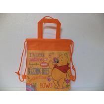 Winnie Pooh 10 Bolsas Morralitos Fiestas Dulceros Piñata