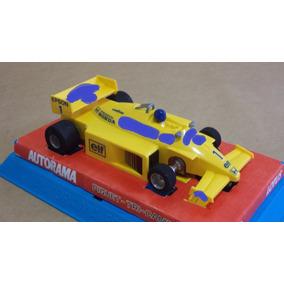 Decalques Autorama Estrela: Lotus Amarela Honda 100t Piquet
