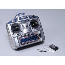 Rádio 6ch Hobbyking Hk6s 2.4ghz Fhss Tx & Rx (modo 2)