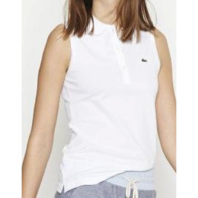 Chomba Lacoste, Mujer, Piqué, Sin Mangas, Pf5816
