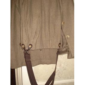 Traje Pantalon Con Tiradores Talle M (fragil)