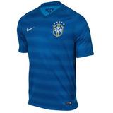 Camisa Brasil Nike 2 2014 575282 Masculino Original + Nf