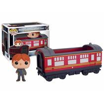 Ron Tren Hogwarts Express Funko Pop Pelicula Harry Potter