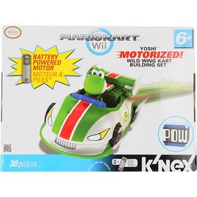 Knex Mario Kart Motorizado - Yoshi - Multikids