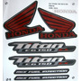 Adesivo Cg Titan 150 2012 Ex Preta, Faixa Original Completa