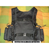 Chaleco Tipo Morral Molle Militar Paintball,airsoft,,fontbon