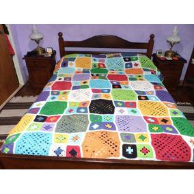 Tejidos Crochet Cubrecamas Pie De Cama Mantas Etc