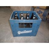 Cajon Botella Vacia Cerveza Quilmes Litro Retornable