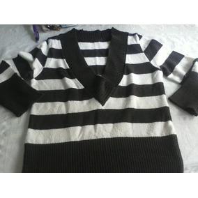 Sweater Expandex Forever21 Mangas 3/4 Escote V , Hermoso!!