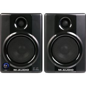Par Monitor Referência De Estúdio M-audio Studiophile Av40
