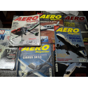 Revistas Aeromagazine Anos 10, 11 E 12