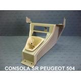 Combo Puegeot 504 Consola Cambios Y Consola De Freno De Mano