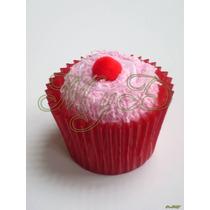 Toallita Facial Cupcake Sencillo En Bolsa 10 Piezas Kekito