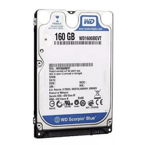 Hd P/notebook Sata 2,5 160gb 5400rpm 8mb Wd1600bevt