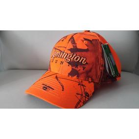 Gorra Camuflada Remington Naranja